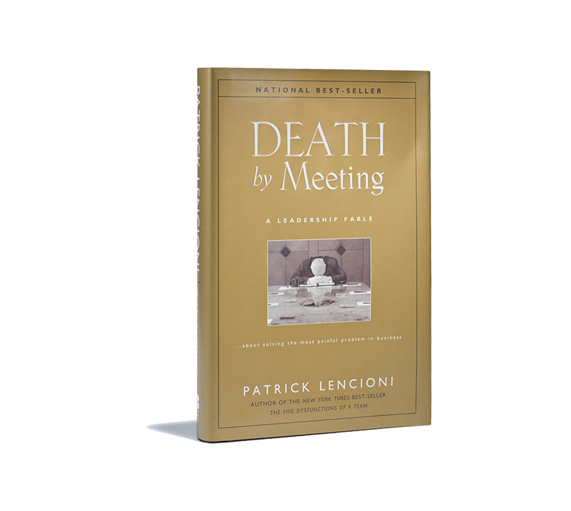 Death By Meeting Book